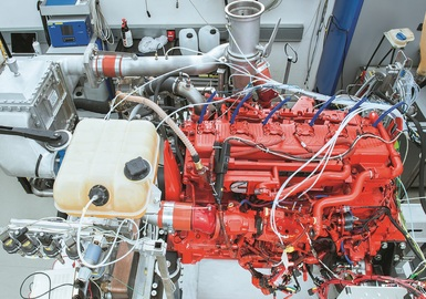 AVL Gas Engines for Commercial Vehicles - Gallery