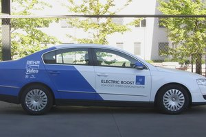 Low CO2 Demonstrator Vehicle with Electric Boost